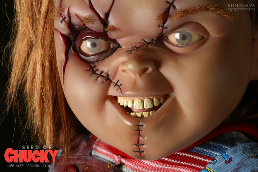 Hannabal Marie: Female Chucky Makeup Look